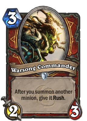 Warsong Commander Card Image
