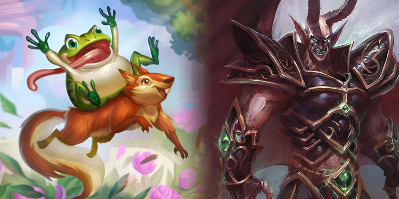Datamined Changes Coming in Hearthstone's Next Battlegrounds Update - Leapfrogger Nerfed