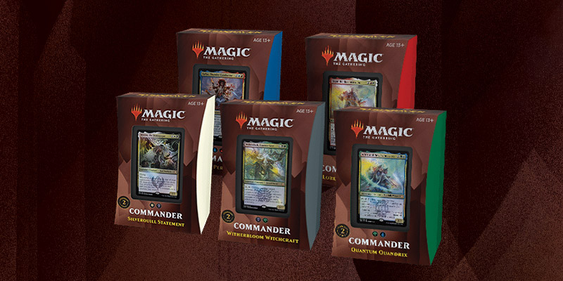 Strixhaven and Ikoria Commander Decks are On Sale for Prime Day