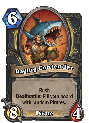 Raging Contender Card Image