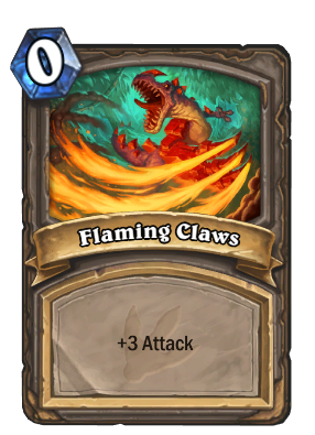 Flaming Claws Card Image