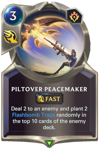 Piltover Peacemaker Card Image