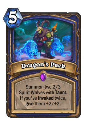 Dragon's Pack Card Image