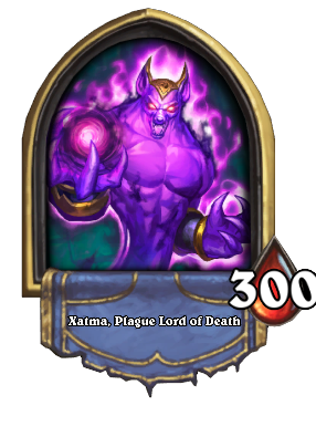 Xatma, Plague Lord of Death Card Image