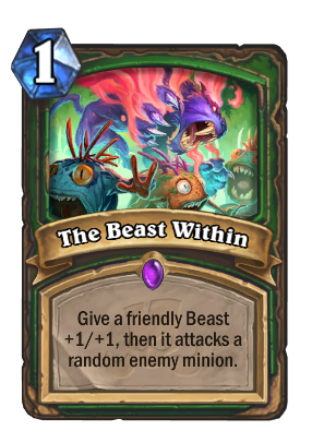 The Beast Within Card Image