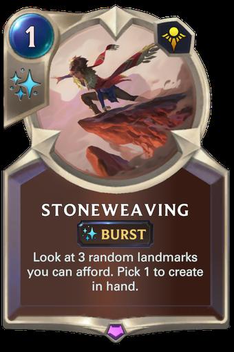Stoneweaving Card Image