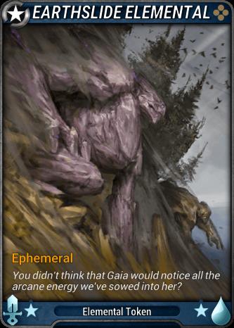 Earthslide Elemental Card Image