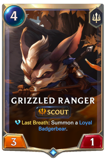 Grizzled Ranger Card Image