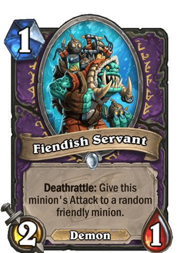 Fiendish Servant Card Image