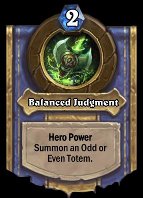 Balanced Judgment Card Image