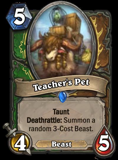 Teacher's Pet Card Image