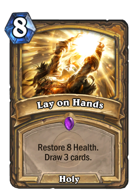 Lay on Hands Card Image