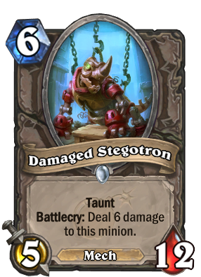 Damaged Stegotron Card Image