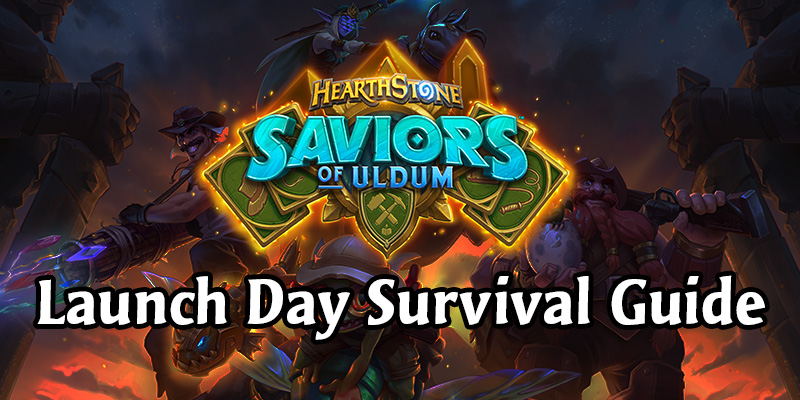 Saviors of Uldum Launch Survival Guide - Everything You Need to Know + Theorycraft Decks