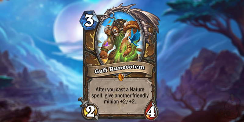 Jorge Reveals a New Forged in the Barrens Legendary Druid Card - Guff Runetotem