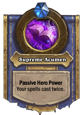 Supreme Acumen Card Image