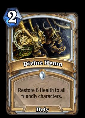 Divine Hymn Card Image