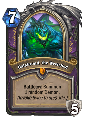 Galakrond, the Wretched Card Image