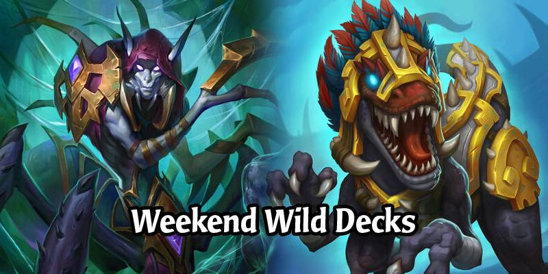 A Wild Hearthstone Weekend Featuring Shuffle Rogue, Gonk Druid, Murloc Shaman, and More!