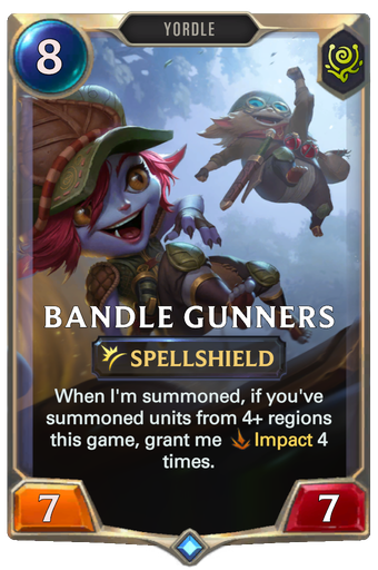 Bandle Gunners Card Image