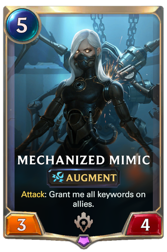 Mechanized Mimic Card Image