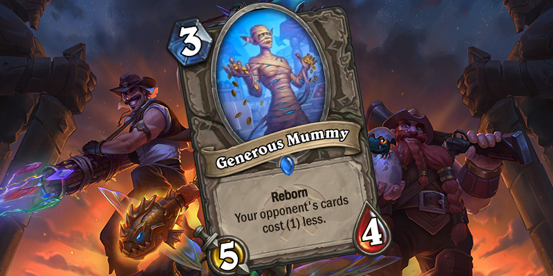 Uldum Card Reveal - Generous Mummy