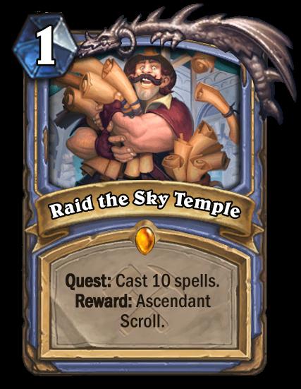 Raid the Sky Temple Card Image