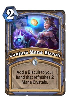 Conjure Mana Biscuit Card Image