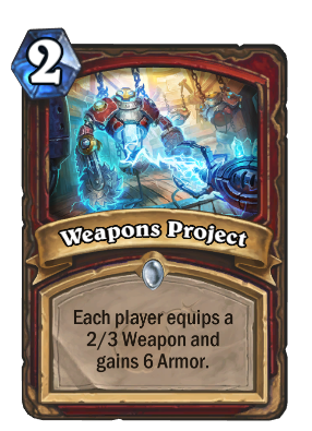 Weapons Project Card Image