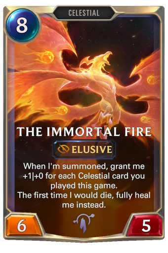 The Immortal Fire Card Image