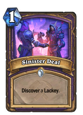 Sinister Deal Card Image
