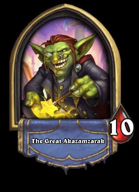 The Great Akazamzarak Card Image