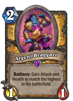 Argent Braggart Card Image