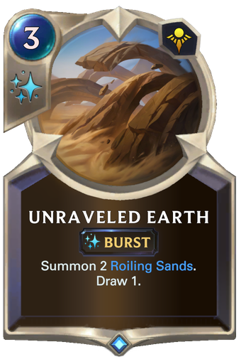 Unraveled Earth Card Image