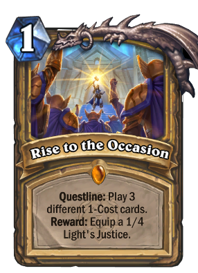 Rise to the Occasion Card Image