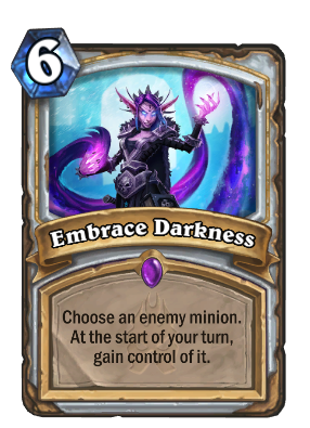 Embrace Darkness Card Image