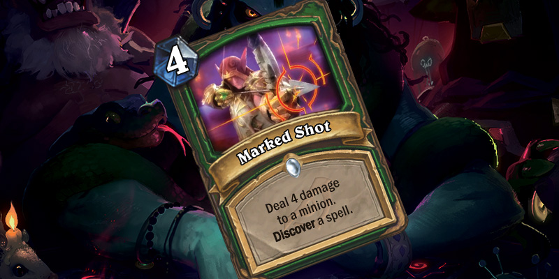 New Hunter Spell - Marked Shot