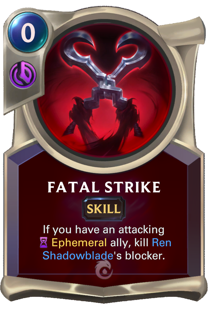 Fatal Strike Card Image