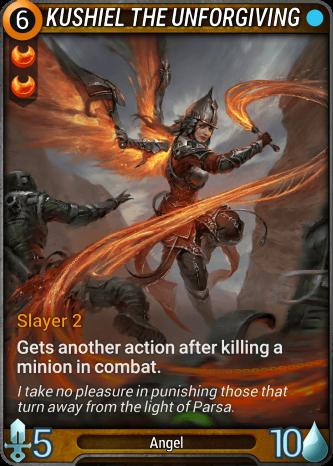 Kushiel the Unforgiving Card Image