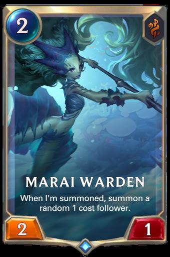 Marai Warden Card Image