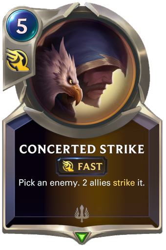 Concerted Strike Card Image