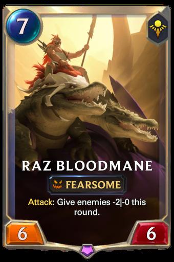 Raz Bloodmane Card Image