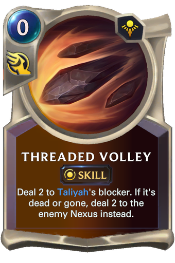 Threaded Volley Card Image