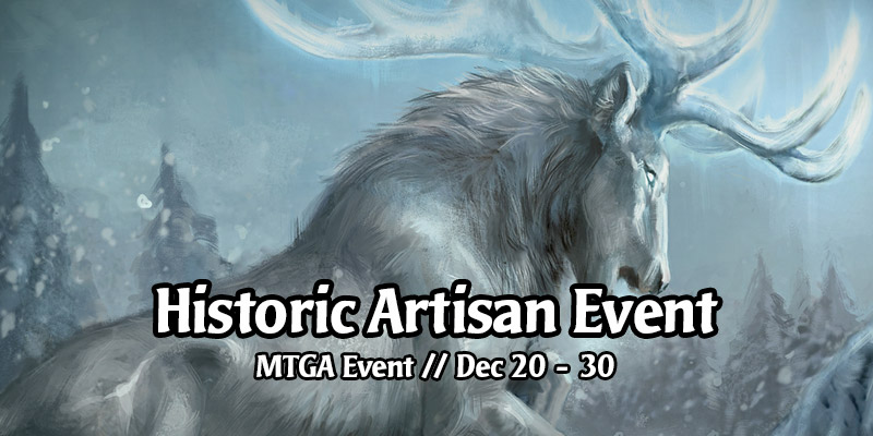The Historic Artisan Event is Live - Unlock 5 Card Styles