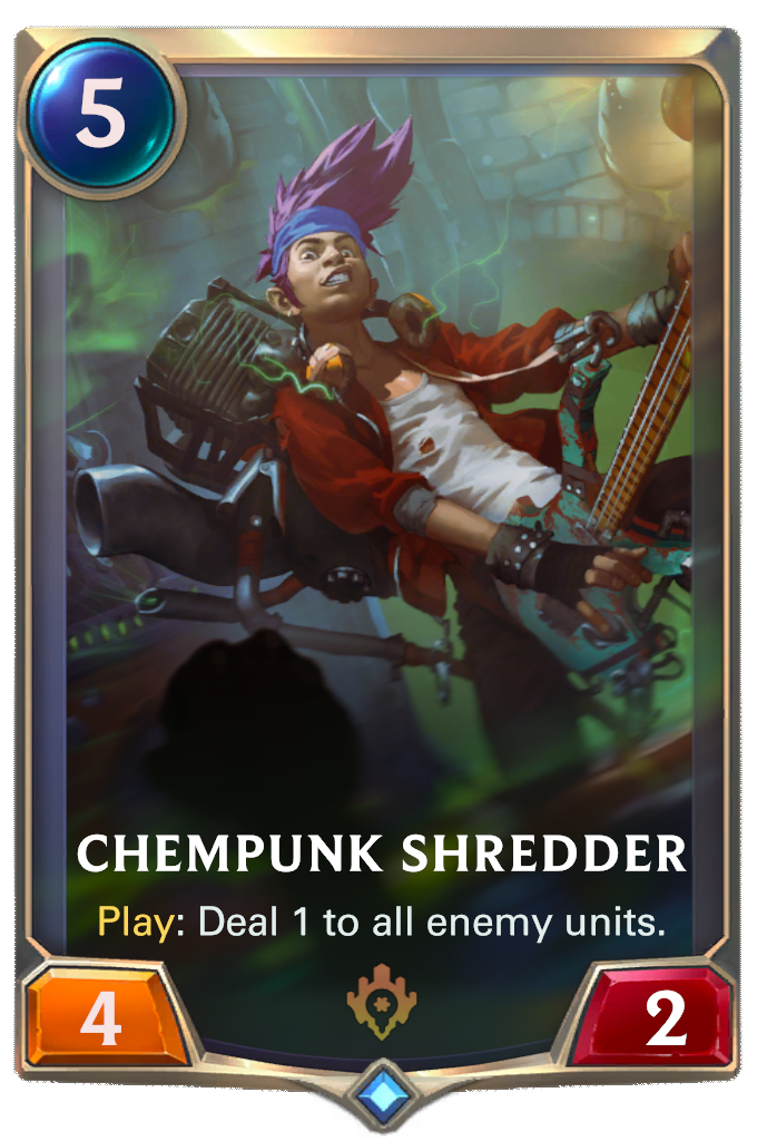 Chempunk Shredder Card Image