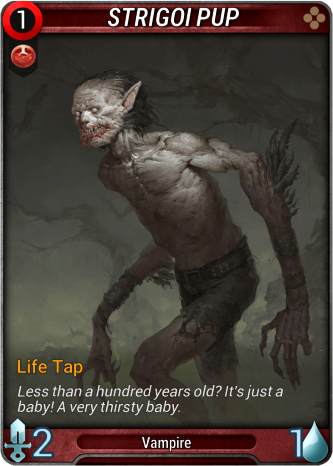 Strigoi Pup Card Image