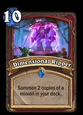Dimensional Ripper Card Image