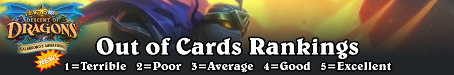 GA Out of Cards Rankings