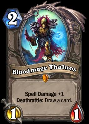 Bloodmage Thalnos Card Image
