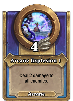 Arcane Explosion 1 Card Image